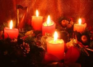 Weihnachtendeko 5 kersen