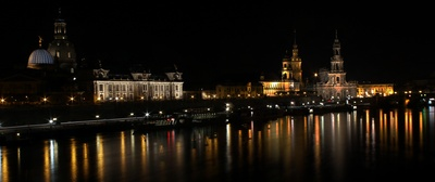 Dresden Altstadt nachts