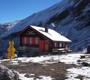 blockhütte in den bergen