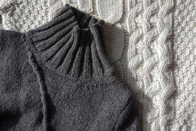 Selbst gestrickte Pullover sind in!