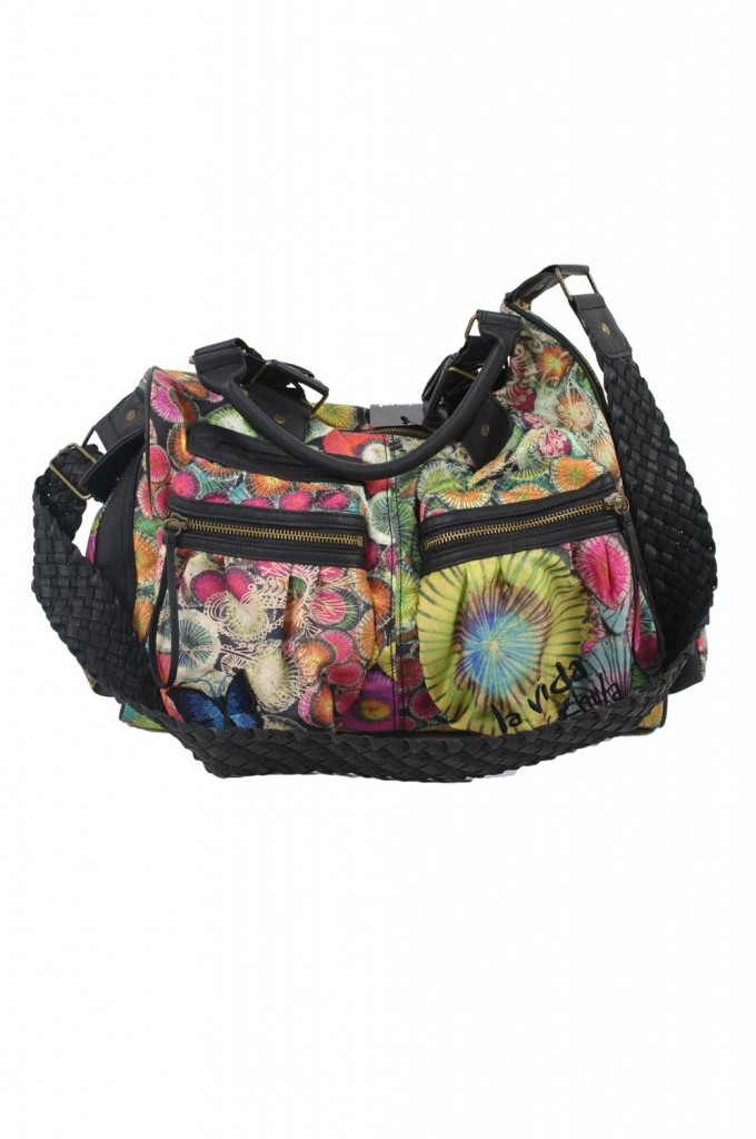 desigual tasche bols london nylon