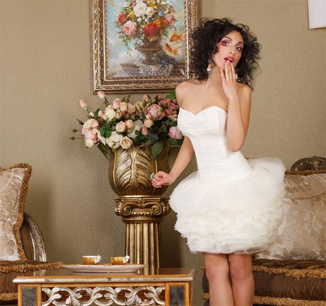 florale-Stickereien-Brautkleid