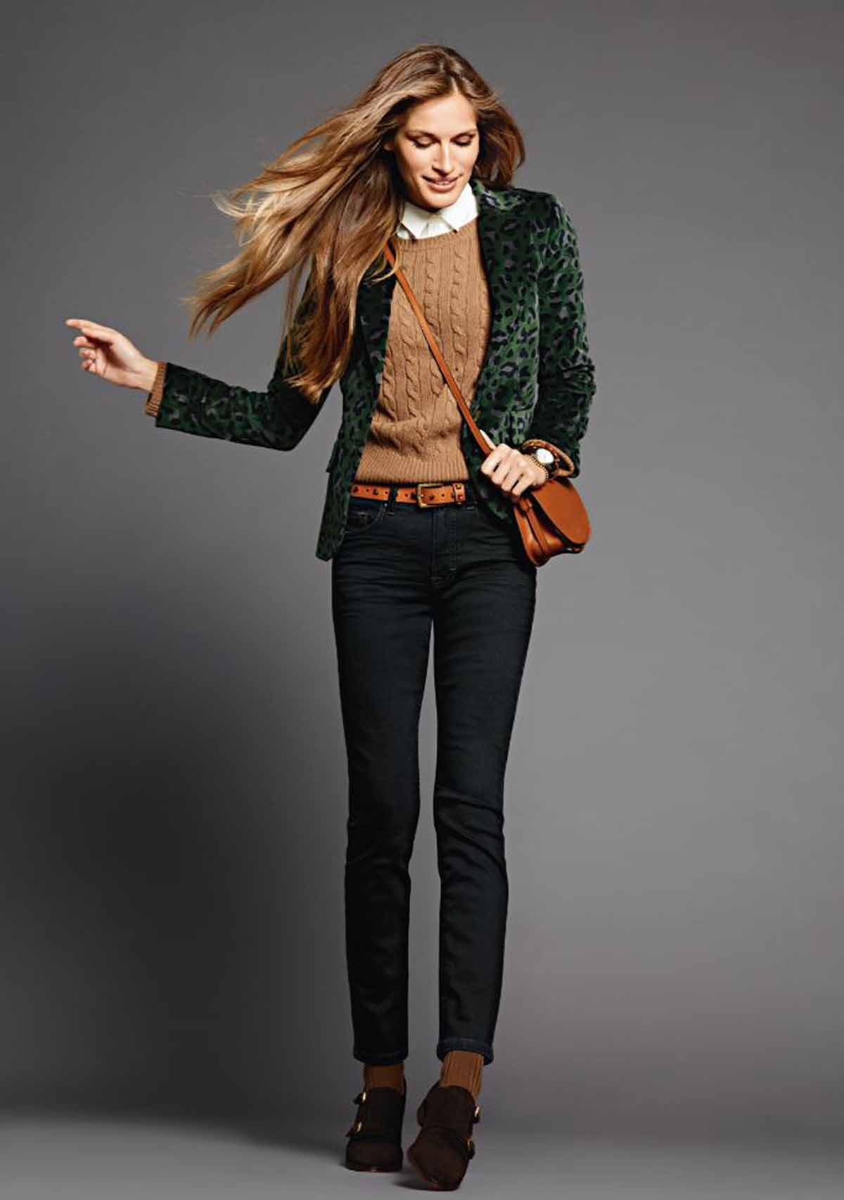 Model-Style Samt Outfit