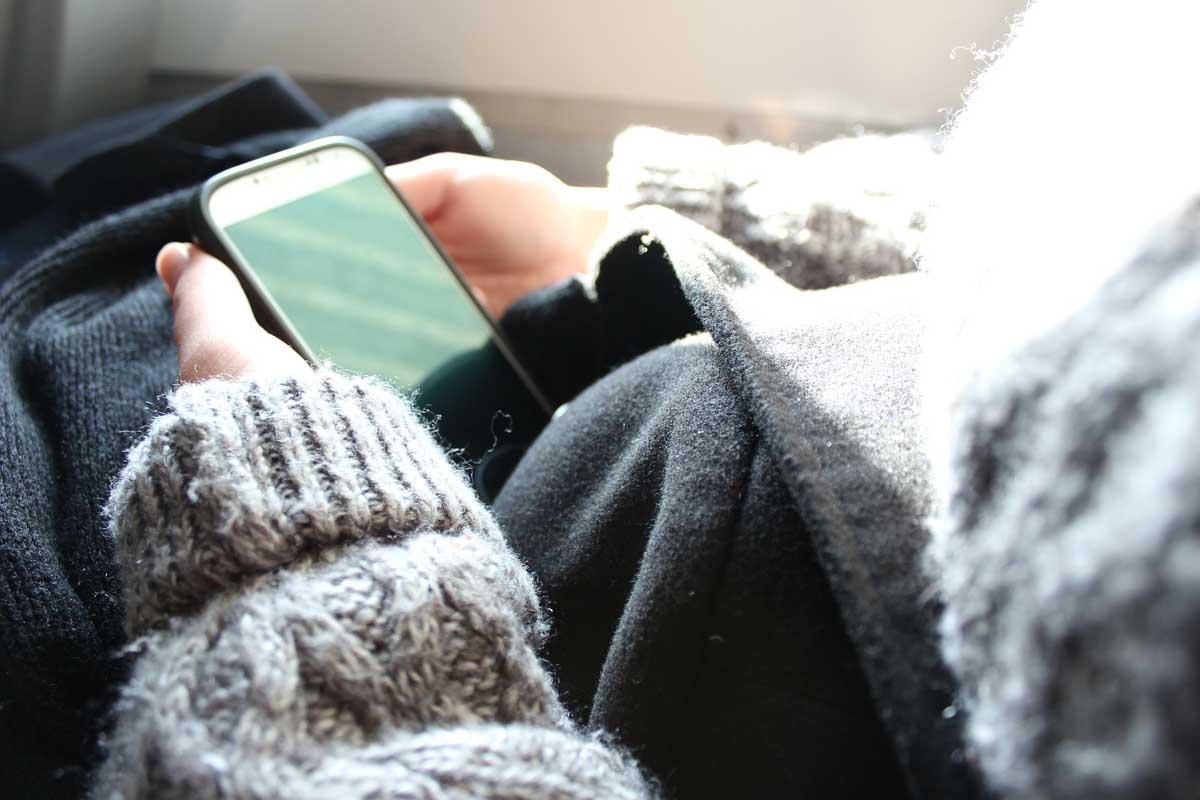 Pullover Smartphone Winter