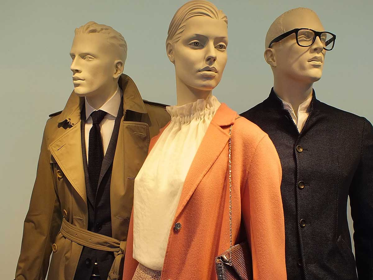 Modetrends Schaufensterpuppen Mannequins