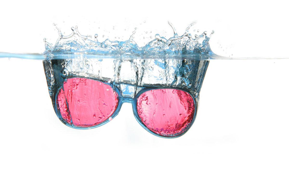 Rosa Brille Brillengestell