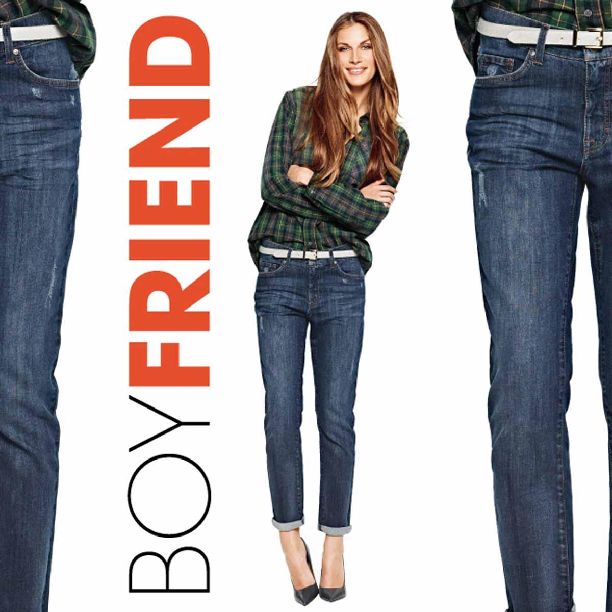 Boyfriend Jeans Hemd