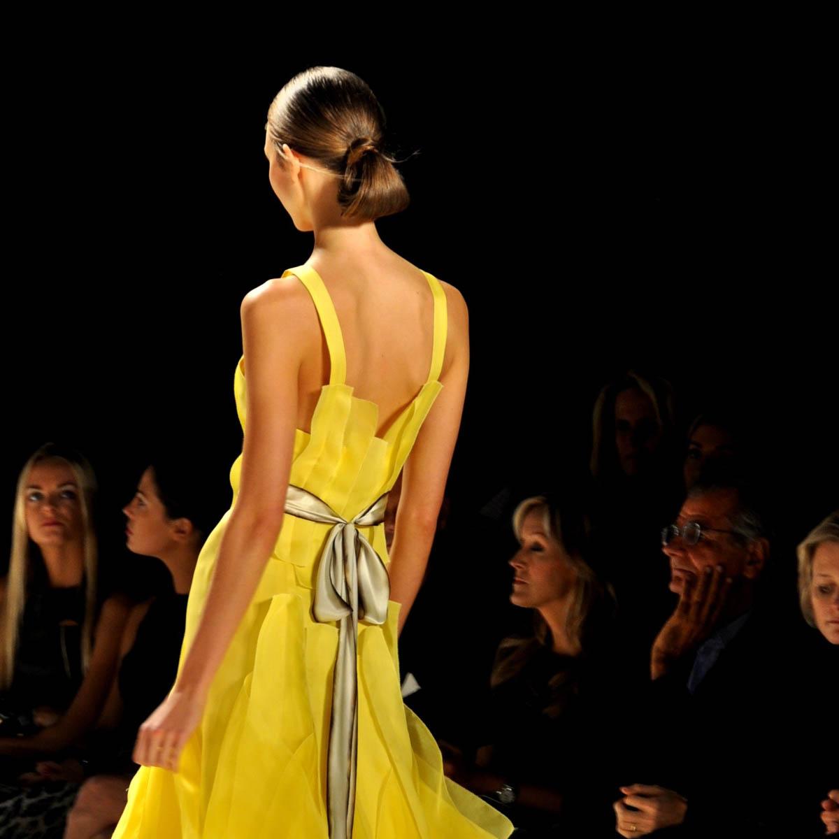 Ballkleid Gelb Trendfarben