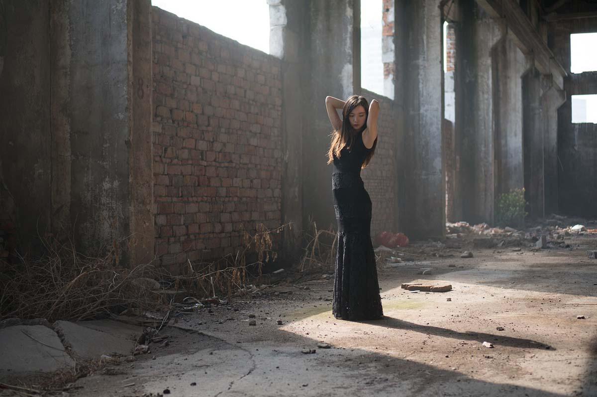 Kleid Schwarz Ballkleid
