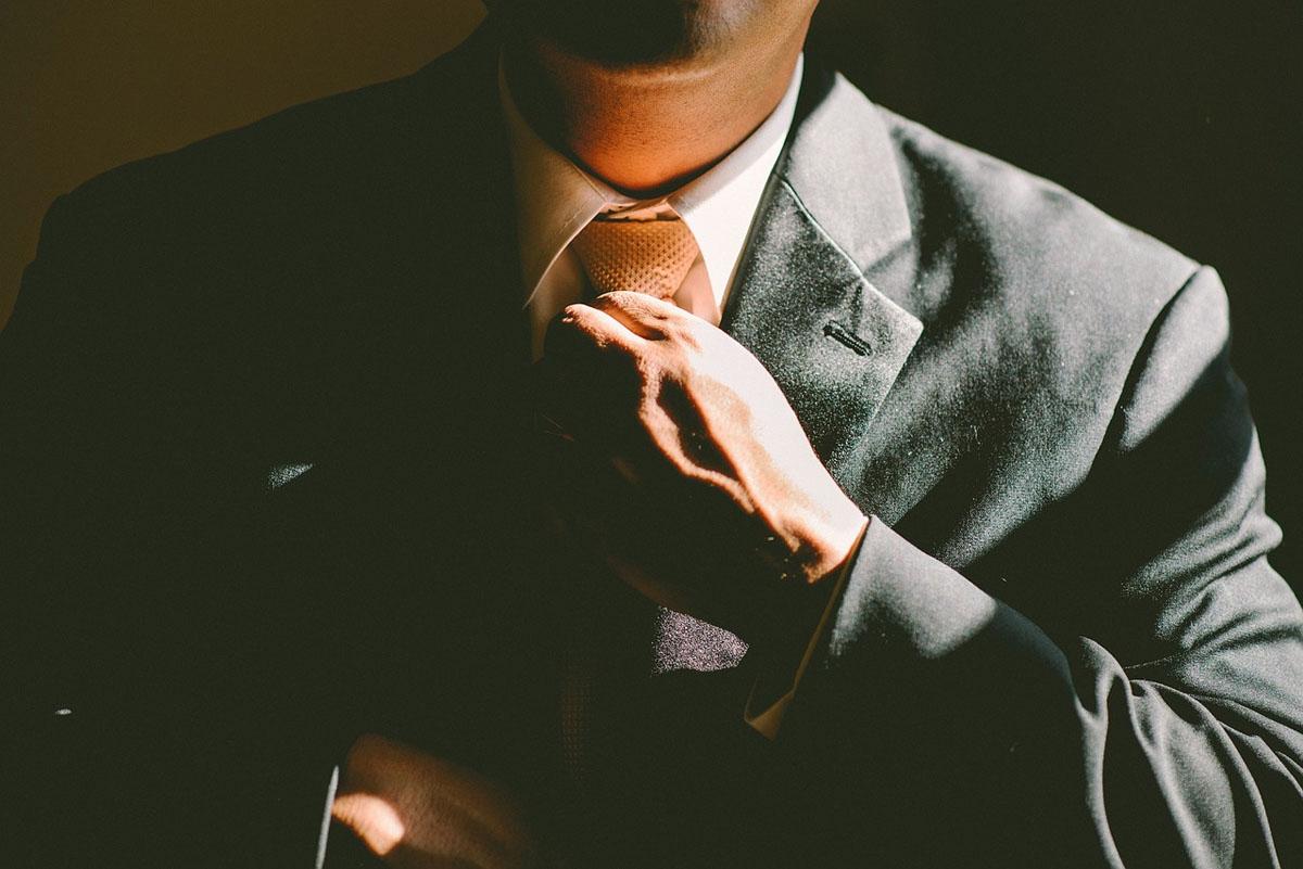 Anzug Krawatte Männerstyling