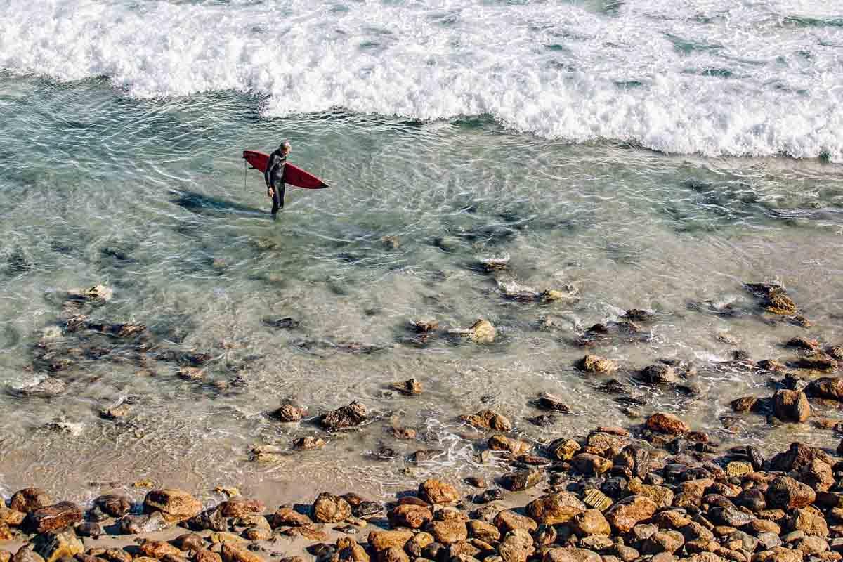 Surfer Surfbrett Strand