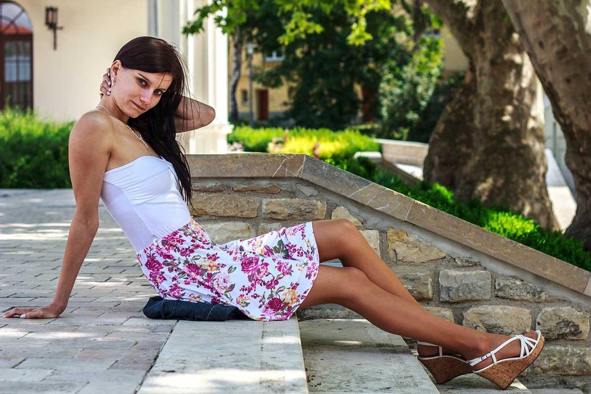 Tubekleid Bandeau Kleid