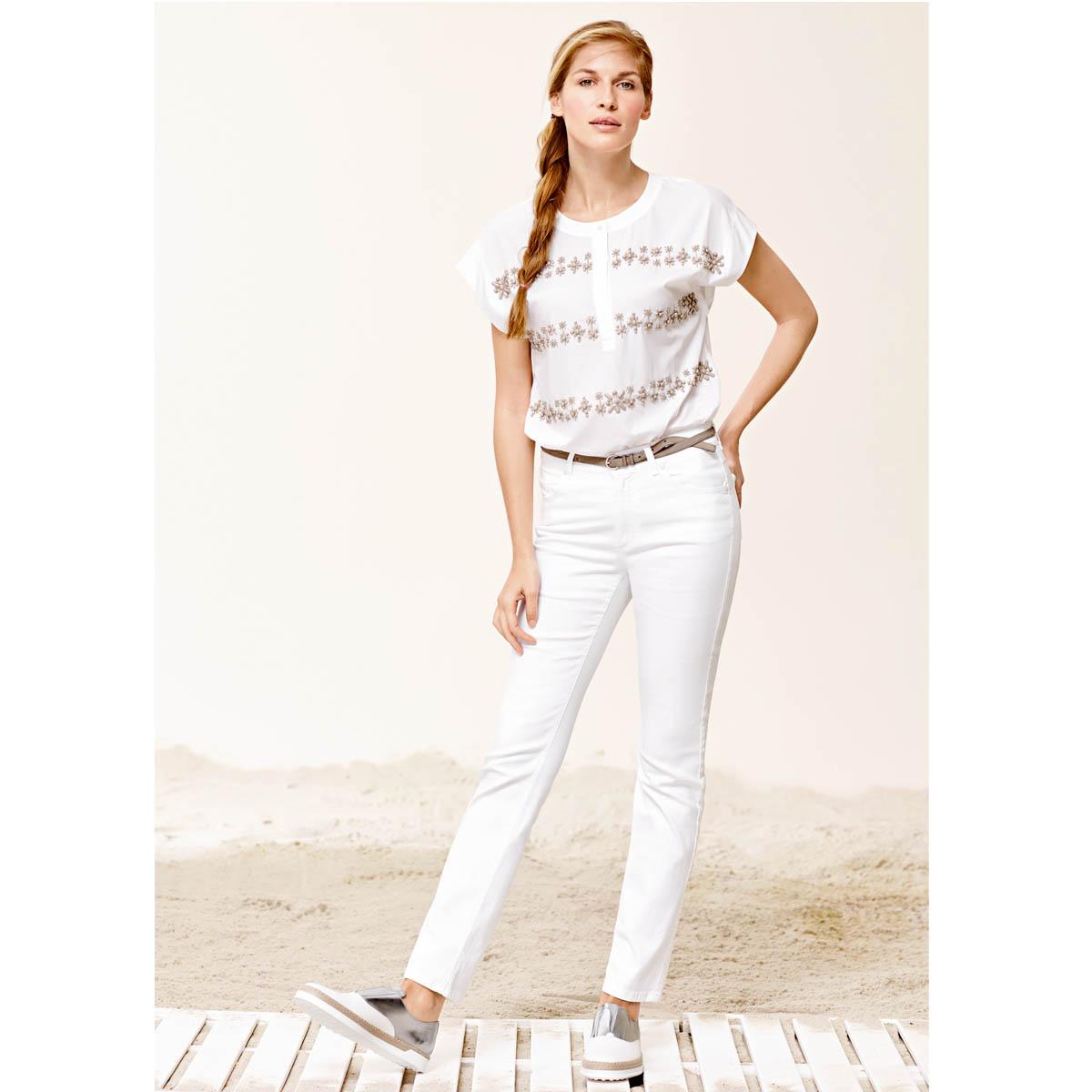 Espadrilles Weiß Trendfarbe