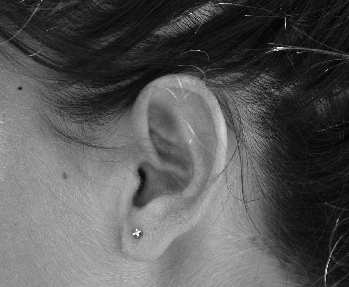 Ohr Ohrring Piercing