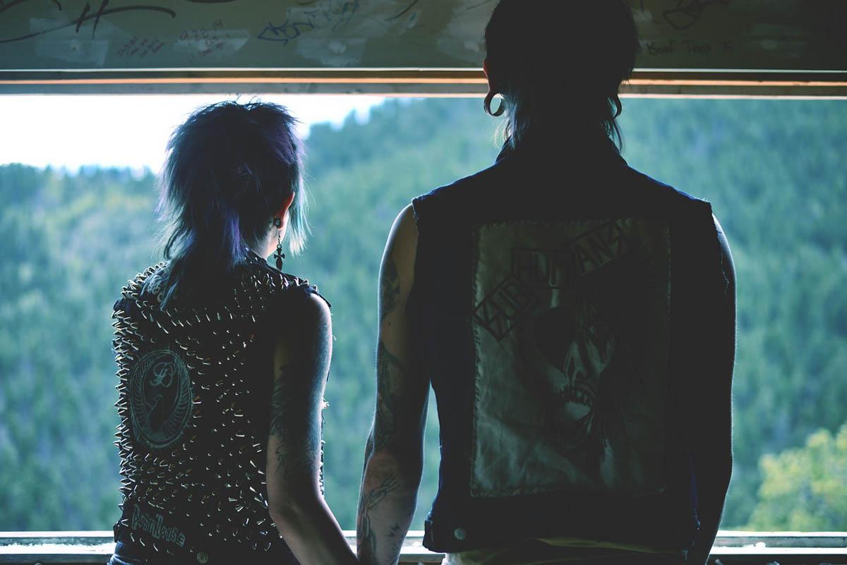 Patch Aufnäher Punk