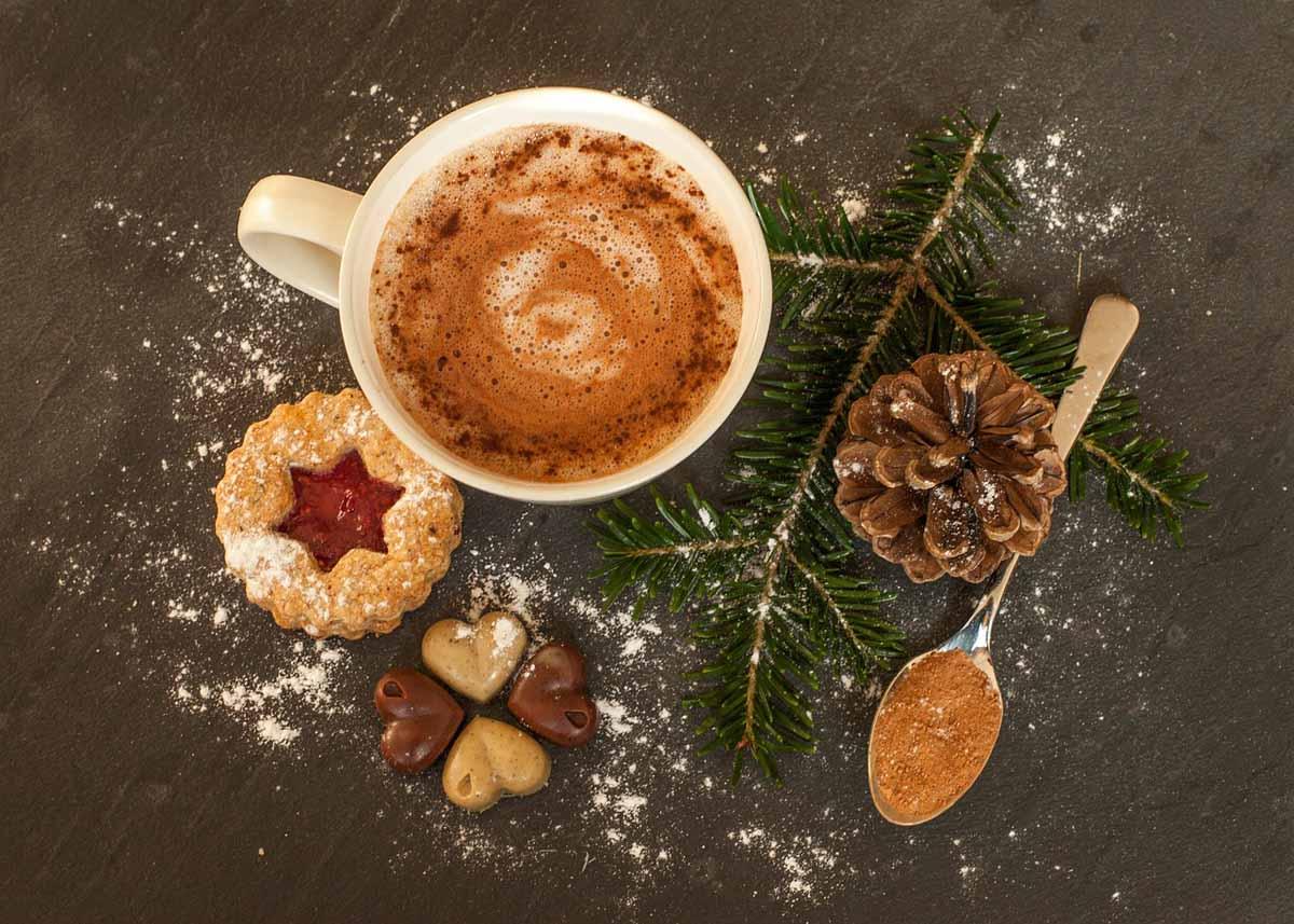 Plätzchen Kakao Weihnachten