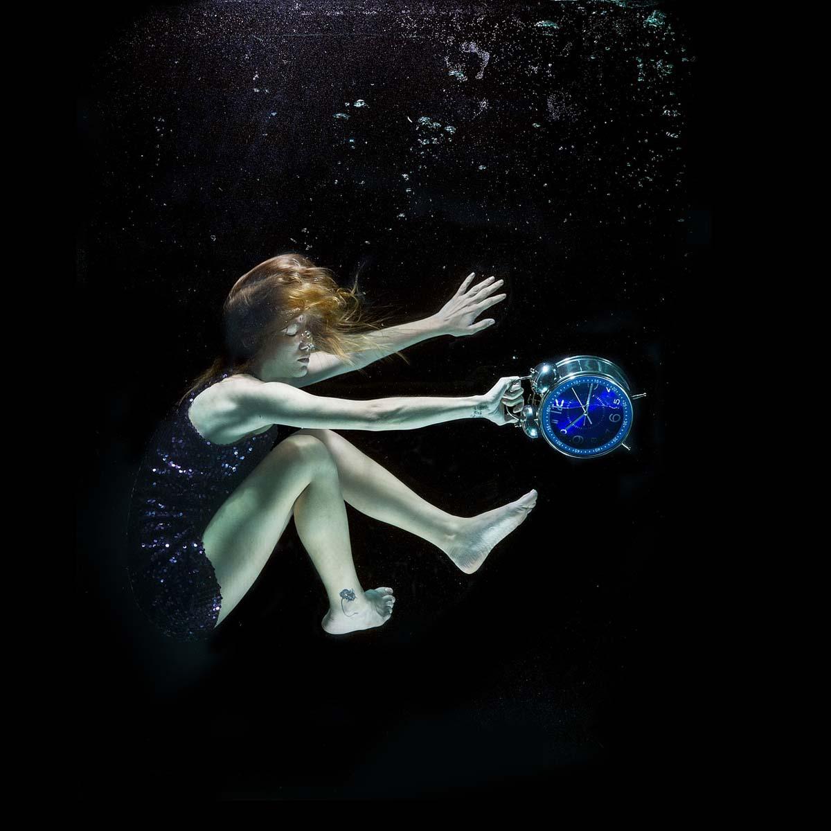 Unterwasser Meer Wecker