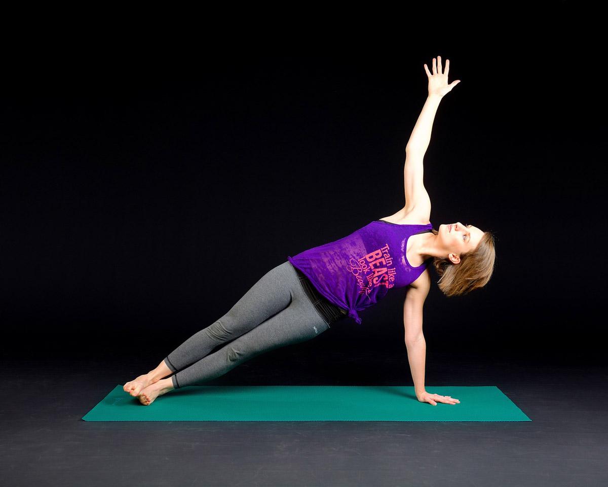 Bikram Yoga Plank