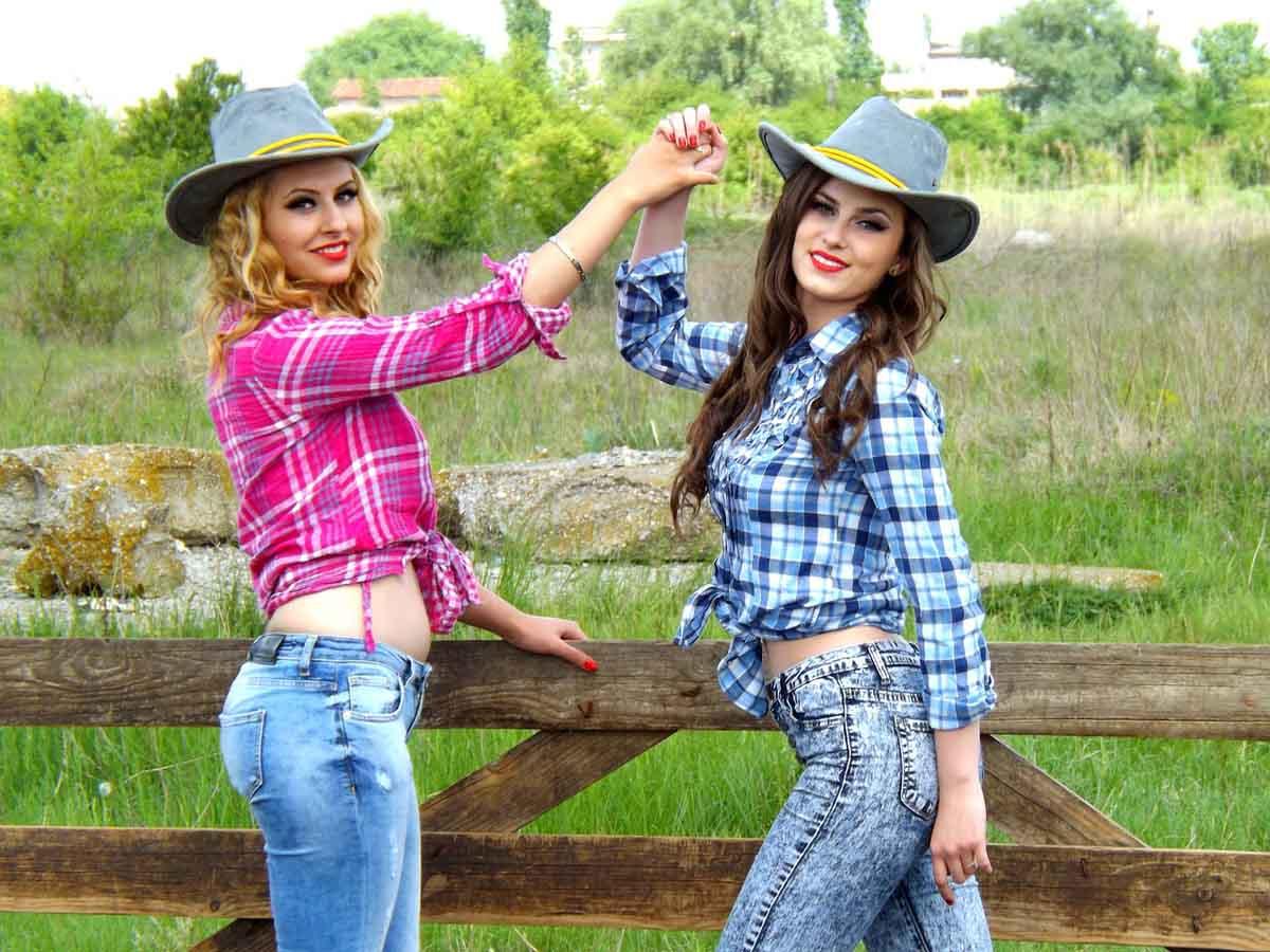 Cowgirls Cowboyhut Modetrend