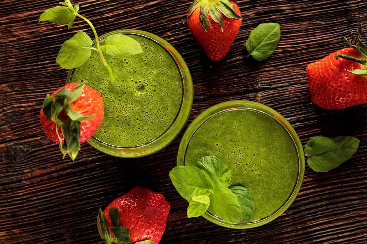 Green Smoothie Getränk