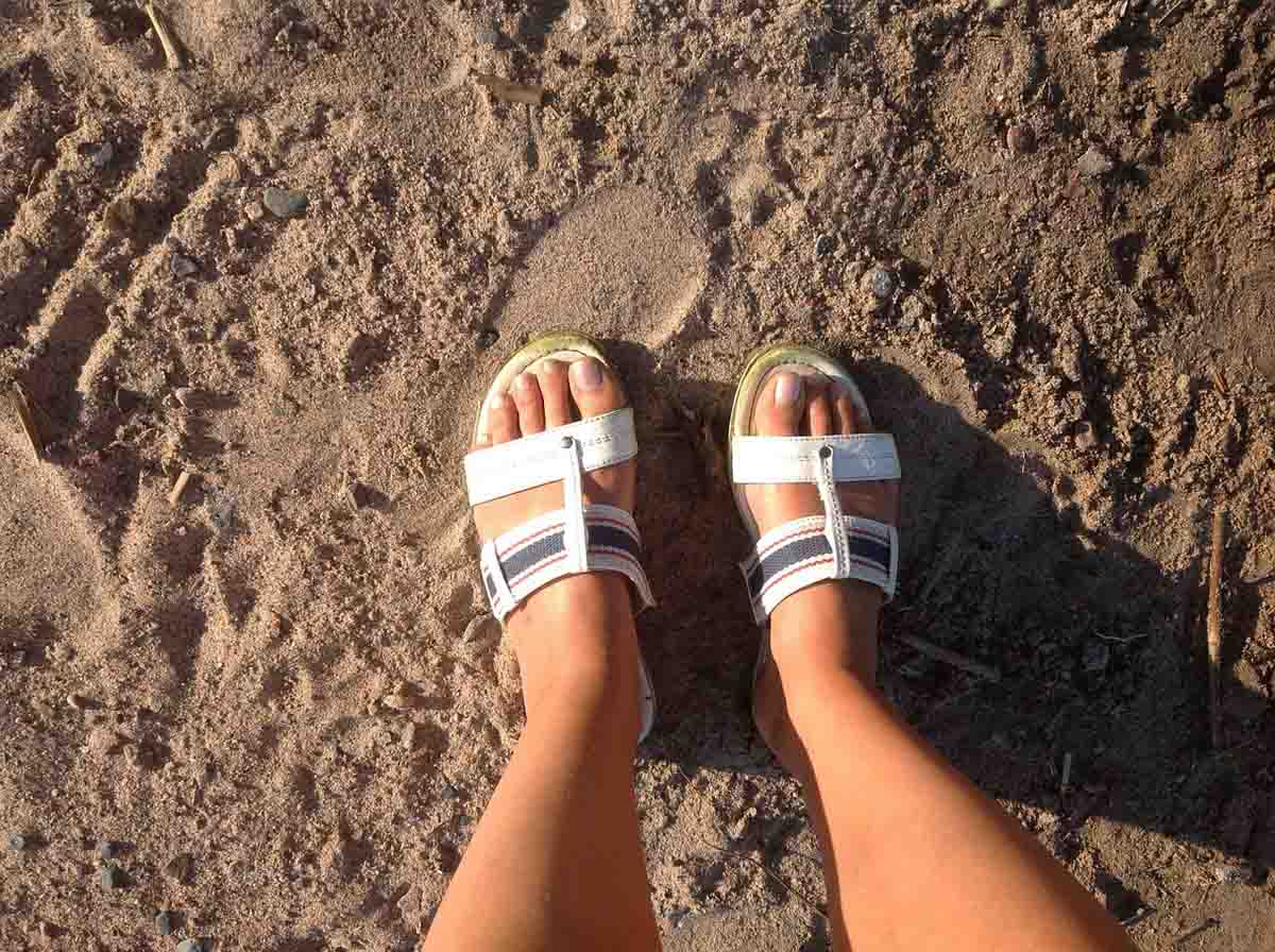 Trekking Sandalen Modetrend