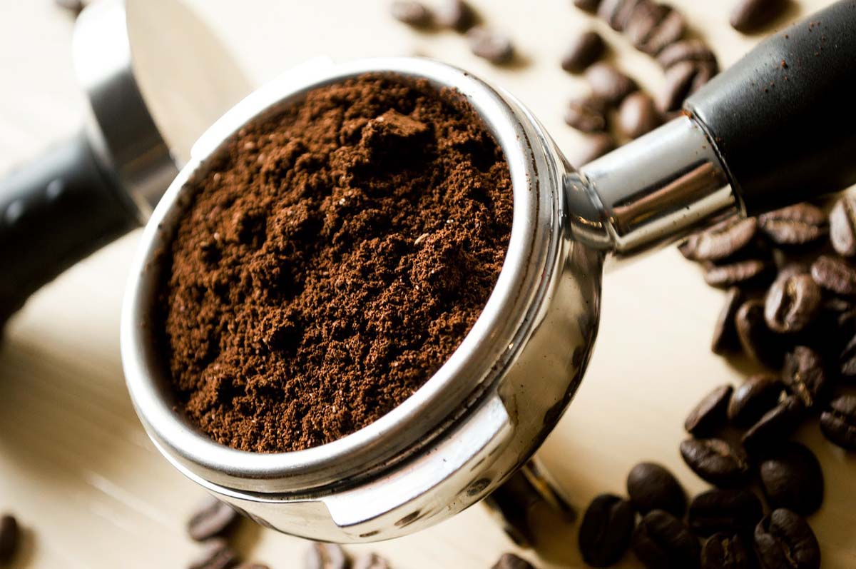 Kaffee Kaffeepulver Kaffeesatz