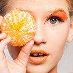 Make Up Trendfarbe: Orange
