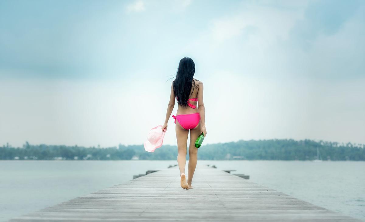 Bikini Pink Steg
