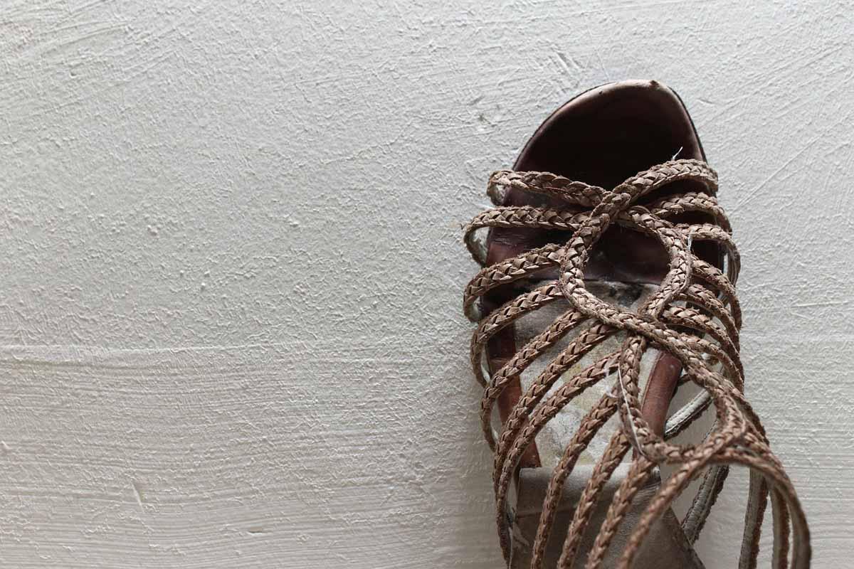 Gladiatoren-Sandalen Sandale Sommerschuh