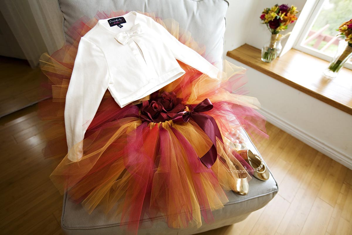Tüllrock Bolero Kleid