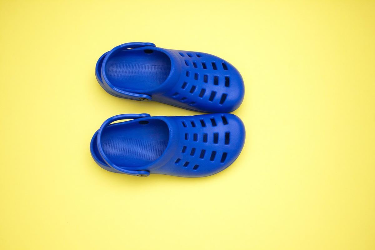 Trendschuhe Crocs Blau