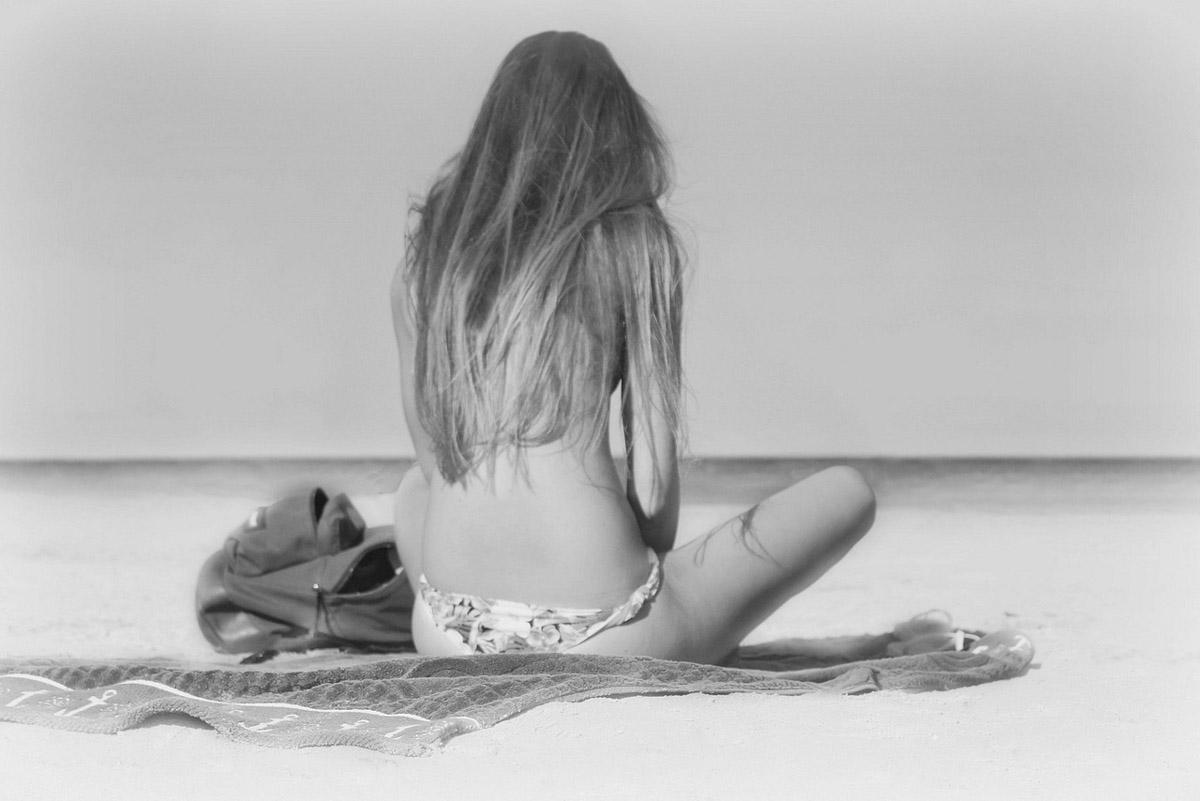 Strand Bikini Frau