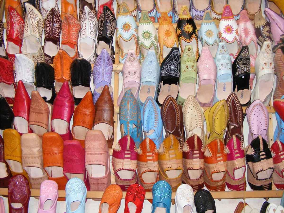 Babouches Souk Schuhe