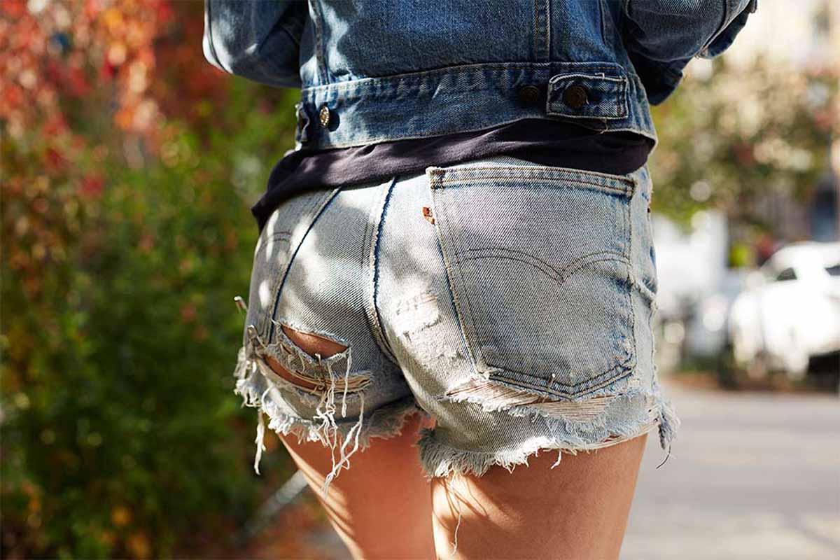 Jeansshorts Shorts Jeanshose