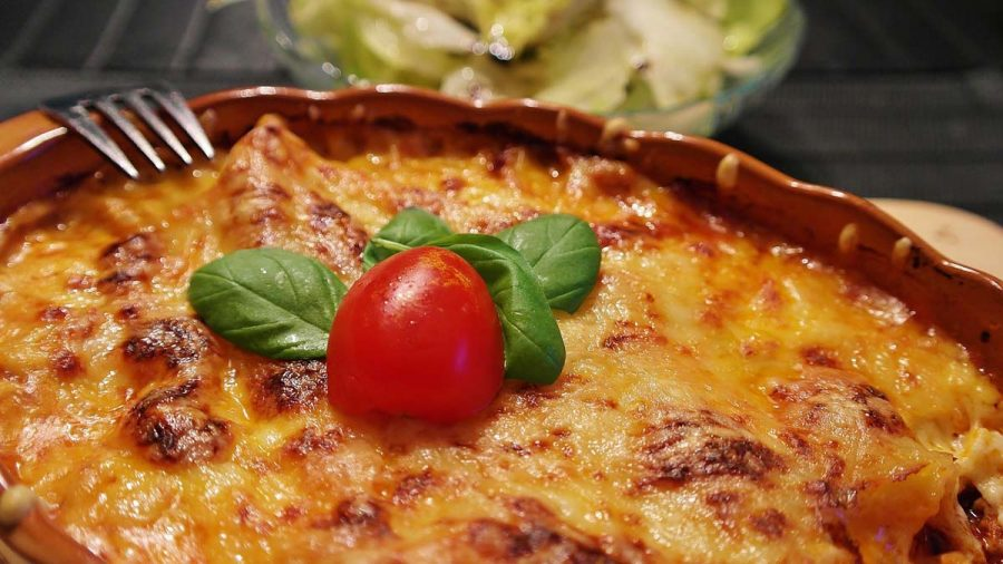 Lasagne Essen Nudeln
