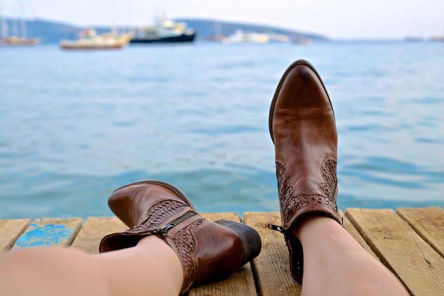 Cowboy Boots Braun
