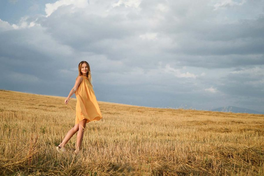 Kleid Frau Wiese