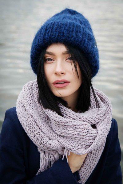 Mütze Schal Frau