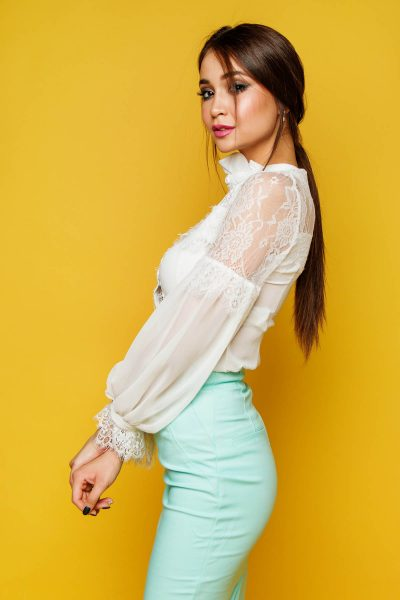 Pastell Rock Bluse