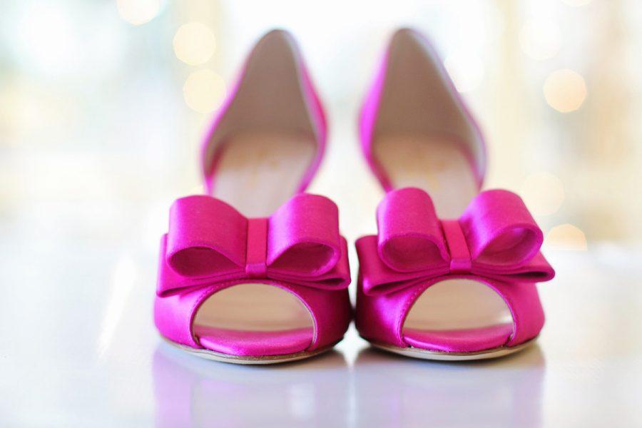 Pumps Pink Schleifen