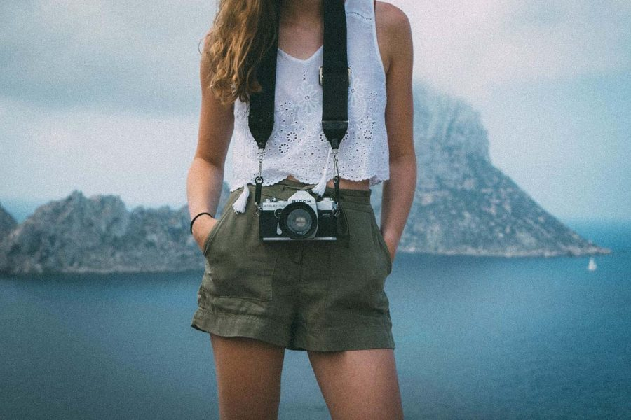 Shorts Kamera Bluse