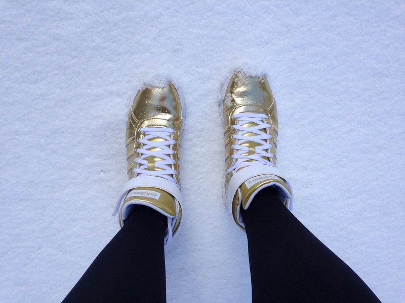 Sneaker Klettverschluss adidas