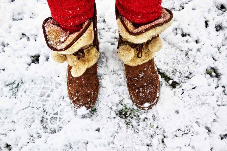 Winterboots Schuhe Schnee