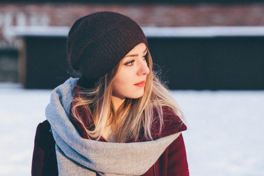 Winteroutfit Mütze Schal
