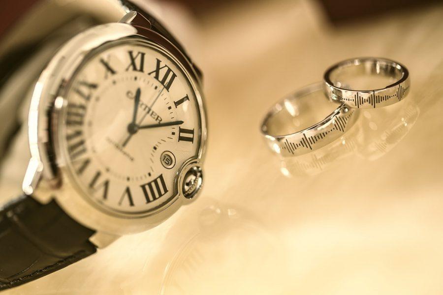 uhr cartier ringe armband
